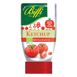 Ketchup Biologico in Flacone Squeeze