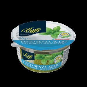 Pesto Fresco Senz'Aglio con Basilico Genovese DOP – 90 g