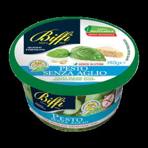 Pesto Fresco Senz'Aglio con Basilico Genovese DOP